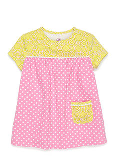 J. Khaki Babydoll Top Girls 4-6x