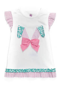 J. Khaki Bunny Ears Top Girls 4-6x