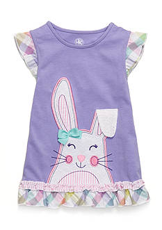 J. Khaki Sweetbunny Sleeveless Top Girls 4-6x