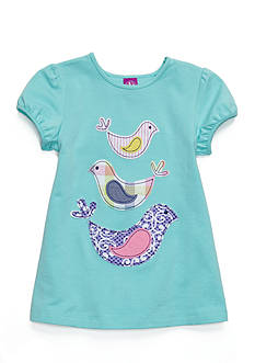 J. Khaki Bird Babydoll Top