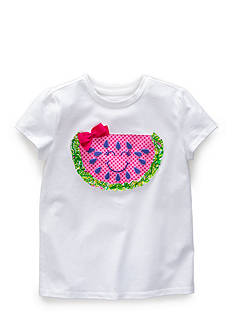 J. Khaki Watermelon Tee Girls 4-6x