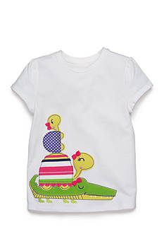 J. Khaki Turtle Tee Girls 4-6x