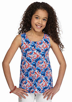 J Khaki™ Tie-Dye Bow Back Tank Top Girls 7-16