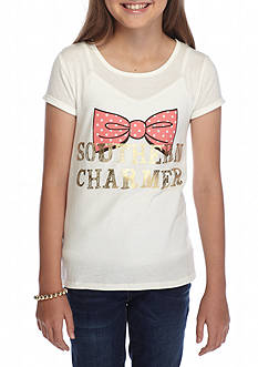 J. Khaki Southern Charm Tee Girls 7-16