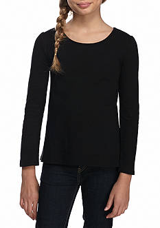 J. Khaki® Long Sleeve Core Tee Shirt Girls 7-16