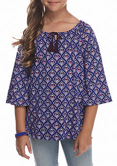 J. Khaki Bell Sleeve Top Girls 7-16