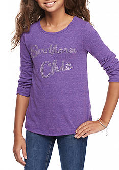 J. Khaki Southern Chic Soft Knit Top Girls 7-16