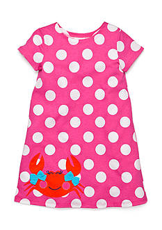 J Khaki™ Polka Dot Crab Dress Girls 4-6x