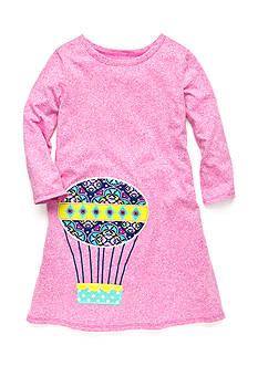 J. Khaki Hot Air Balloon Shift Dress Girls 4-6x