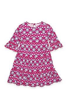 J. Khaki Paisley Print Dress Girls 4-6x