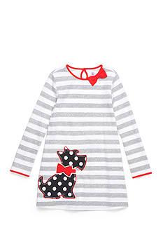 J. Khaki Scottie Dress Girls 4-6x