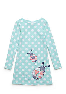 J. Khaki Ladybug Dress Girls 4-6X