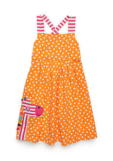 J. Khaki® Giraffe Dress Girls 4-6x