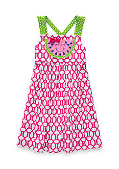 J. Khaki Watermelon Dress Girls 4-6x