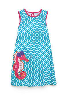 J. Khaki Seahorse Dress Girls 4-6x