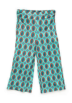 J. Khaki Geo Printed Gaucho Pants Girls 7-16