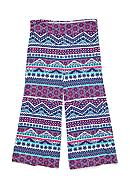 J Khaki™ Printed Chevron Gaucho Pants Girls
