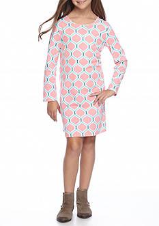 J. Khaki Bow Back Dress Girls 7-16