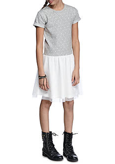 J. Khaki French Terry Dress Girls 7-16