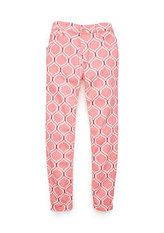 J. Khaki Geo Twill Pants Girls 7-16