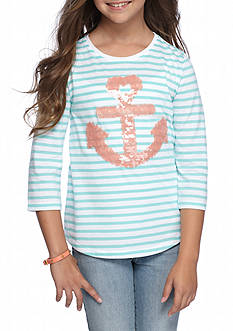 J. Khaki® Anchor Tee Girls 7-16