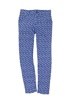 J. Khaki Falling Dot Twill Pant Girls 7-16