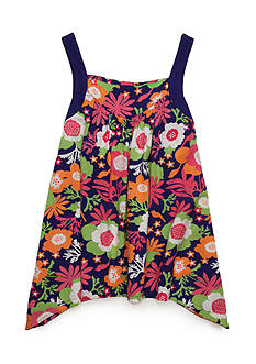 J. Khaki® Flower Drape Tank Girls 7-16