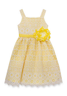 Rare Editions Lace Social Dress Girls 4-6x