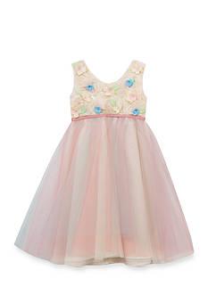 Rare Editions Organza Ballerina Dress Girls 4-6x