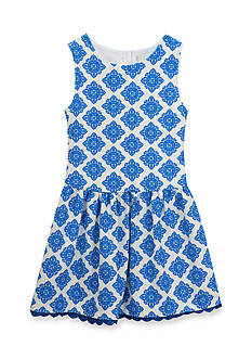 Rare Editions Damask Knit Dress Girls 4-6x