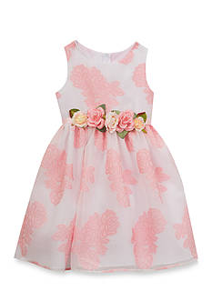 Rare Editions Floral Patterned Dress Girls 4-6x