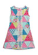Rare Editions Patchwork Dress Girls 7-16