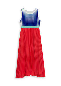 Rare Editions Pleated Maxi Dress Girls 7-16