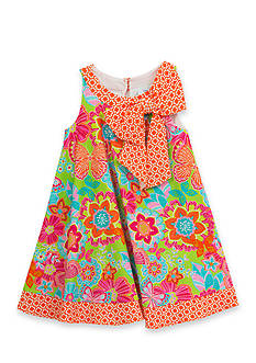 Rare Editions Mixed Pattern Dress Girls 7-16