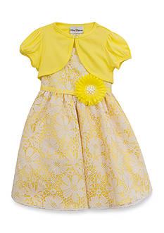Rare Editions Floral Cardigan Dress Girls 7-16