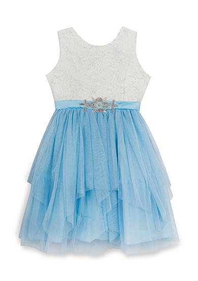 Rare Editions Cinderella Party Dress Girls 7-16