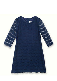 Rare Editions Knit Eyelash Dress Girls 4-6x