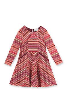 Rare Editions Burgundy Knit Dress Girls 4-6X