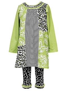 Rare Editions Giraffe Tunic & Legging Set Girls 4-6X