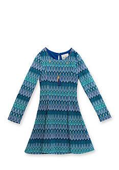Rare Editions Missoni Print Dress Girls 7-16