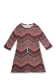 Rare Editions Tribal Print Dress Girls 7-16