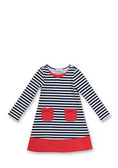 Rare Editions Stripe Dress Girls 7-16