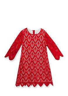 Rare Editions Lace Shift Dress Girls 7-16