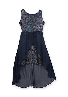 Rare Editions Sparkle Tulip Dress Girls 7-16