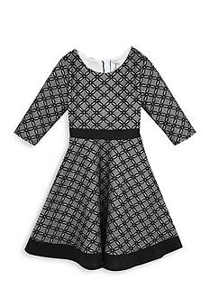 Rare Editions Patterned Fit And Flare Lace Dress Girls 7-16