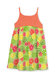 Counting Daisies by Rare Editions Fruit Slice Dress Girls 4-6x