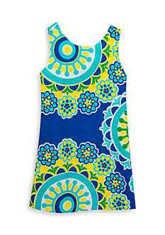 Rare Editions Multi Printed Shift Dress Girls 4-6x