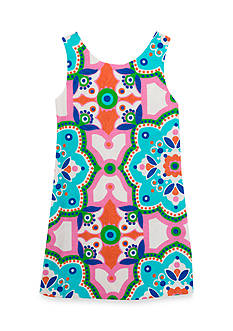 Rare Editions Printed Shift Dress Girls 4-6x