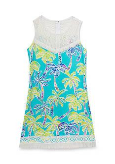 Rare Editions Palm Knit Dress Girls 7-16