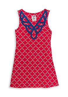 Rare Editions Geo Print Knit Dress Girls 7-16